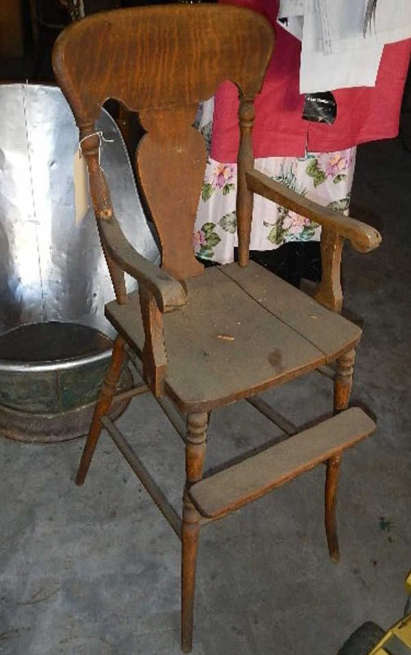 Image 1 : Antique Baby Chair ... - Antique Baby Chair