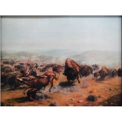 The Buffalo Hunt by JD Allen