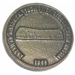 1983 AMERICAN HISTORICAL SOCIETY OF GERMANS FROM RUSSIA COIN *RARE HARD TO FIND - MINT CONDITION*!!