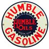 Humble Oil Porcelain Sign