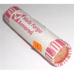 ROLL OF 1990-D UNC PENNIES *UNC ROLL* PENNIES 50 TOTAL *ROLL CAME OUT OF SAFE DEPOSIT BOX*!!