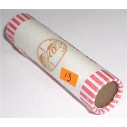 ROLL OF 1973-D UNC PENNIES *RARE UNC ROLL* PENNIES 50 TOTAL *ROLL CAME OUT OF SAFE DEPOSIT BOX*!!