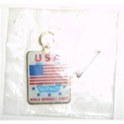 1977 USA SOFIA *WORLD UNIVERSITY GAMES* PENDANT!!!