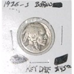 1920-S BUFFALO NICKEL RED BOOK VALUE IS $45.00 *RARE FINE GRADE* BUFFALO NICKEL CAME OUT OF SAFE!!