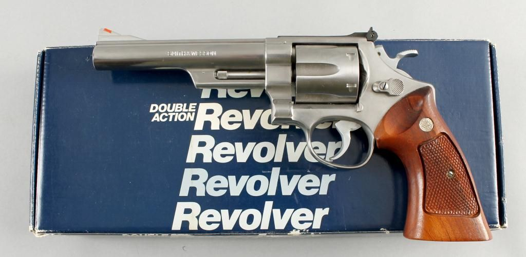 Smith & Wesson Mdl 629-1 Cal .44mag SN:N871226Double action N-frame ...