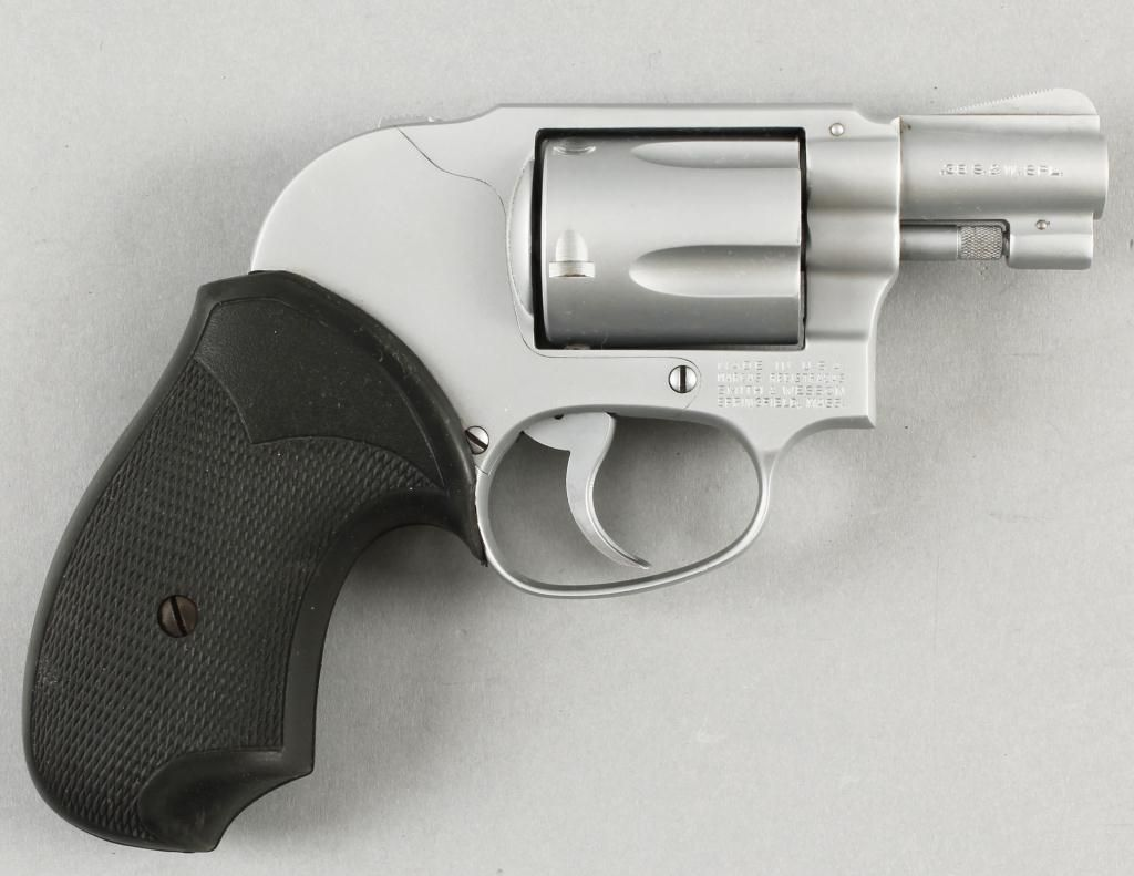 Smith & Wesson Mdl 49 Cal .38spl SN:J798227Double action J-frame ...