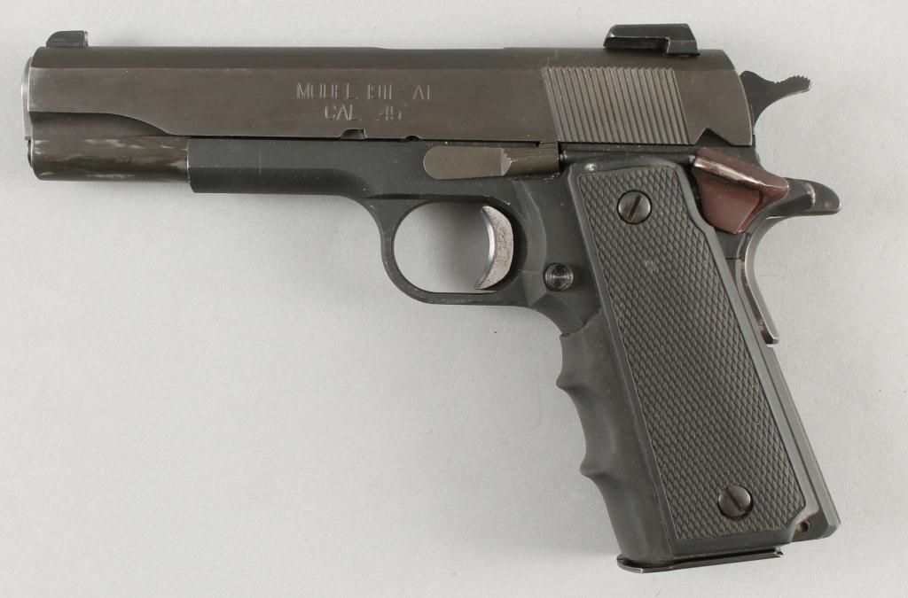 Springfield Mdl 1911-A1 Cal .45acp SN:PG002533Single action semi ...