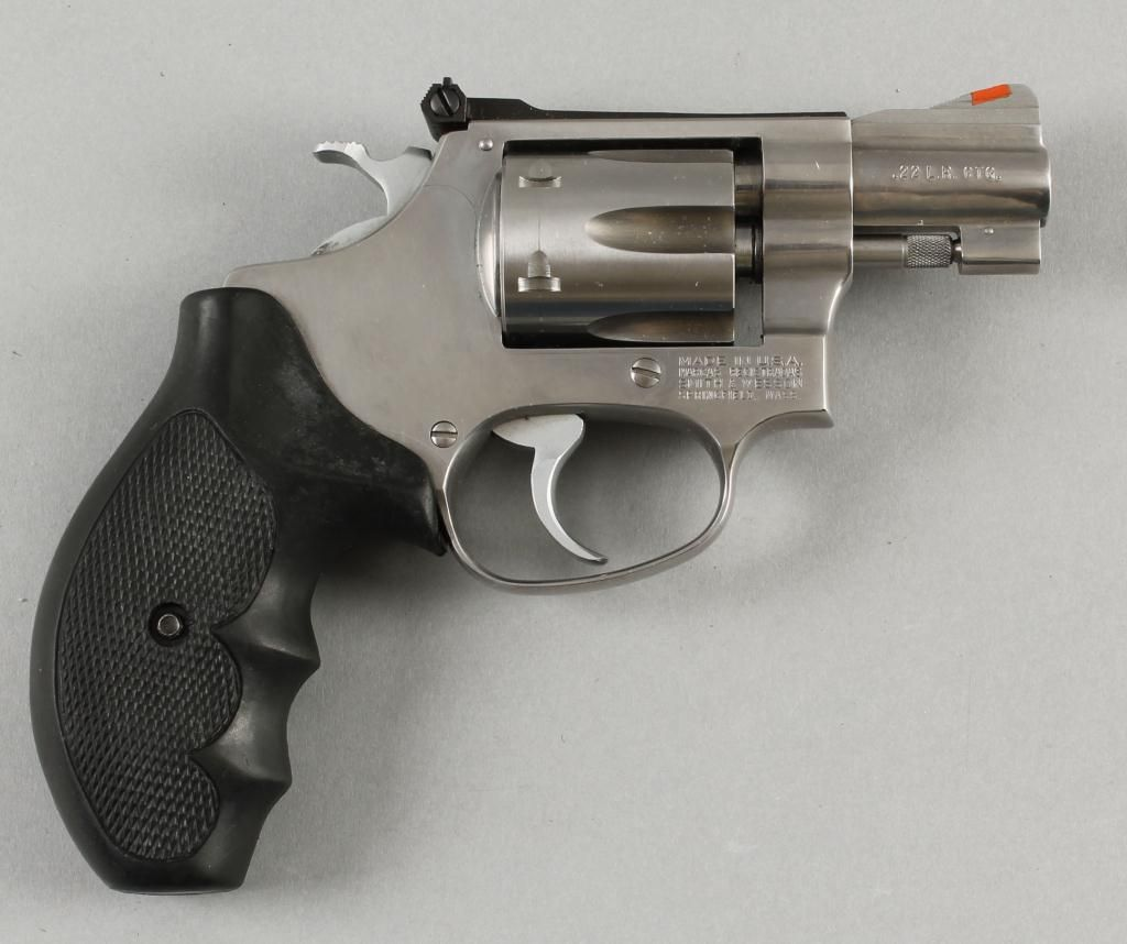 Smith & Wesson Mdl 63-3 Cal .22LR SN:BNT2433Double action J-frame ...
