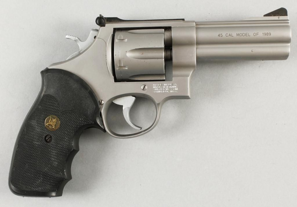 Smith & Wesson Mdl 625-3 Cal .45acp SN:BEN0363Double action N-frame ...