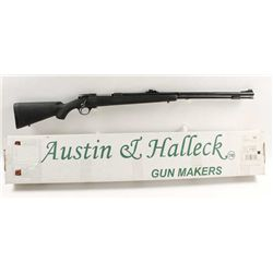 Austin & Halleck Mdl 320 Cal .50 SN:0011240Inline bolt action muzzle loading rifle with  26  barrel,