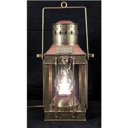 Brass Nautical Cargo Light No. 3954 Great Britain 1939