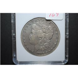 1895-S US Silver Morgan $1; MCPCG Graded VF Details-Improperly Cleaned; EST. $900-1200