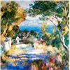 "Renoir ""L'estaque"" Ltd. Giclee'"