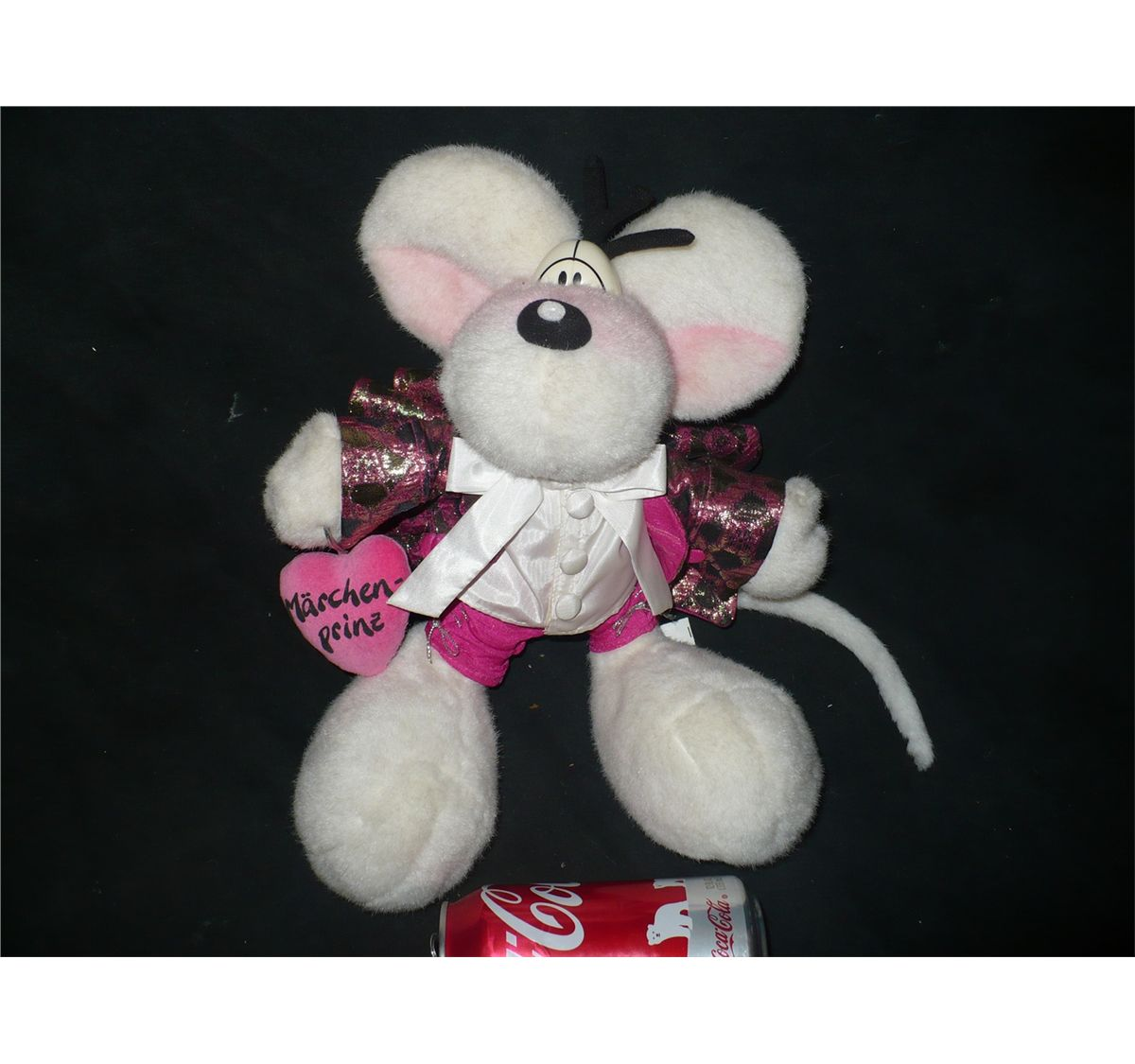 Image 1   DIDDL MOUSE FAIRYTALE PRINCE STUFFED ANIMAL WITH OUTFIT THOMAS  GOLETZ ... 65cb04cd6