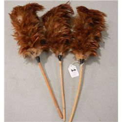 Pheasant feather dusters