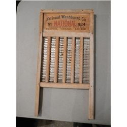 """The Silver King"" National Washboard"