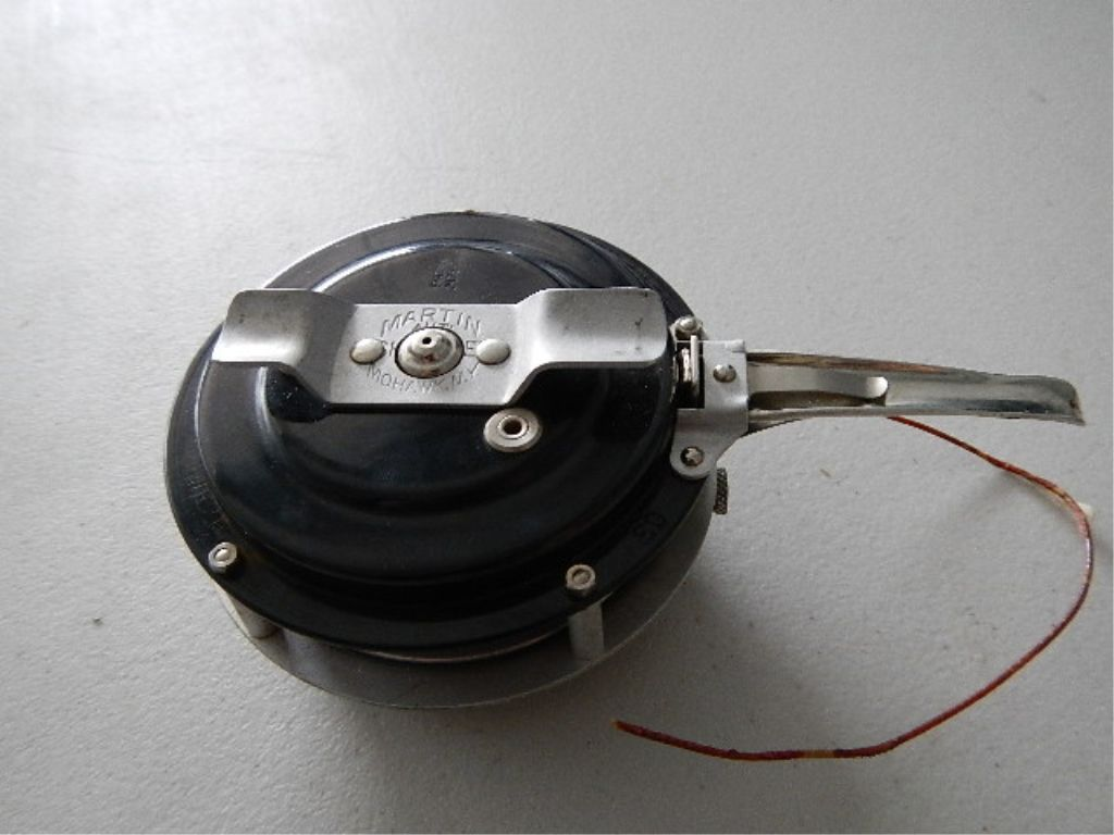 Martin mohawk automatic fishing reel for Automatic fishing reel