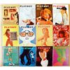 Vintage 1967 Playboy Magazines (12 Issues)