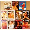 Vintage 1975 Playboy Magazines - 11 Issues