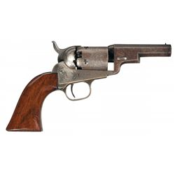 "Fine Colt Model 1849 ""Wells Fargo"" Percussion Revolver"