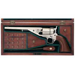 Exceptional Cased Colt Richards-Mason Conversion Model 1861 Navy Revolver