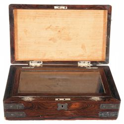 Extraordinary Presentation Case with Inscription to Inventor and One Time Colt President E.K. Root F