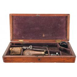 Case For a Colt Model 1862 Police Revolver with Accessories