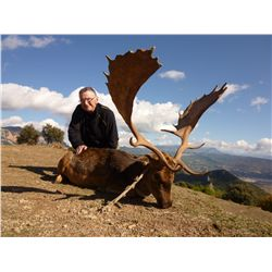 4-day Spanish fallow deer hunt for one hunter and 2 day tour for one non-hunter in Spain - includes