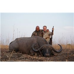 7-day Cape buffalo and plains game hunt for one hunter and one non-hunter in Zambia - includes troph