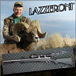 Col. Craig Boddington's personal LAZZERONI® rifle