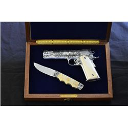 Kimber 1911 and Canal Street Cutlery Set - PRICELESS!!