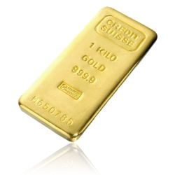 Kilo Bar of Pure Gold - 24 Karat