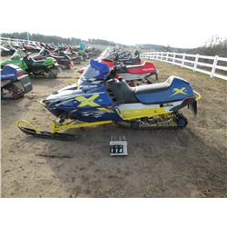 2002 Polaris 600 Edge X http://www.liveauctionworld.com/2002-Polaris-Edge-X-600-4XANE6ESX2B227702_i14743563