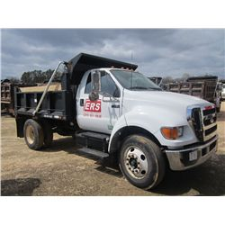2005 FORD F750 S/A DUMP