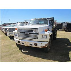 1991 FORD F800 S/A DUMP