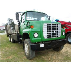 1985 FORD 8000 T/A HAUL TRUCK