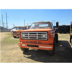 1986 GMC S/A FLATBED