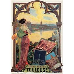 Lot 271: French Art Nouveau Travel Poster