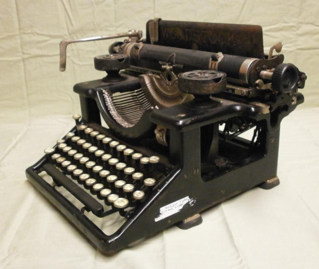 typewriter paper carriage A typewriter is a mechanical or electromechanical machine for writing characters similar to those produced by printer's movable typetypically, a typewriter has an array of keys, each of.