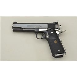 "Customized Colt Mark IV/Series 70 Government  Model semi-auto pistol, .45 cal., 5"" barrel,  blue fin"