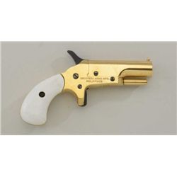 Shooters Arms copy of a single shot derringer  percussion blackpowder, made in the  Philippines, bra