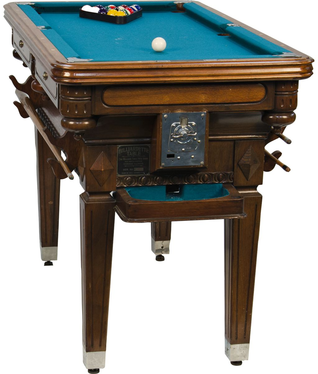 5 Cent Billiardette Table Mini Floor Model Pool Table. Loading Zoom