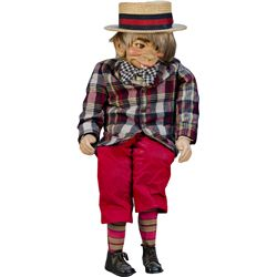 Mortimer Snerd Ventriloquist Dummy Doll