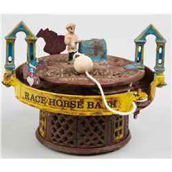 Mechanical Race Horse Bank