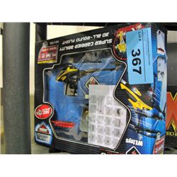 Cobra super carrier 3D radio controlled helicopter
