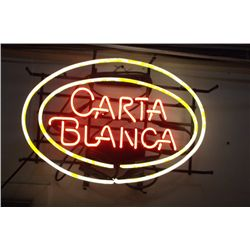 Carta Blanca Lighted Beer Sign