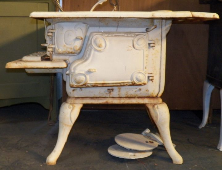 Antique Perfection Cook Stove Vintage Sheep Herders Wood Cook