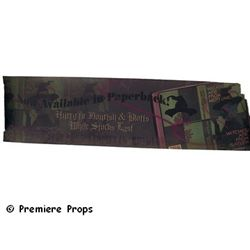 Harry Potter Chamber of Secrets Banner Prop