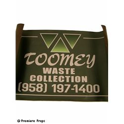 Man Of Steel Toomey Sign Prop