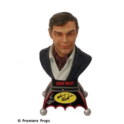 Adam West Bust Signed